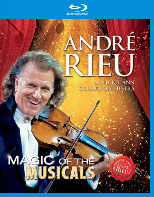 安德列·里欧 (André Rieu) – 音乐剧的魔法 (Magic Of The Musicals) (2014) 蓝光原盘 [BDMV 22.1G]