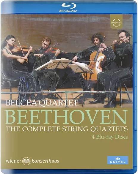 贝多芬弦乐四重奏全集 Belcea Quartet – Beethoven: The Complete String Quartets (2014) 蓝光原盘 [4BD BDMV 128.4G]