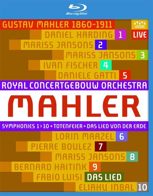 荷兰皇家大会堂管弦乐团 – 马勒交响曲全集11碟套装 (2013) 蓝光原盘 [11BD BDMV 216.5G]