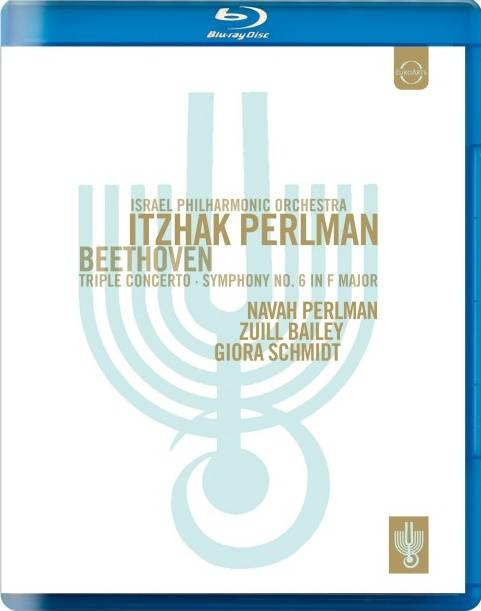 Israel Philharmonic Orchestra, Itzhak Perlman – 贝多芬:三重协奏曲&第六交响曲 (2012) 蓝光原盘 [BDMV 19.7G]