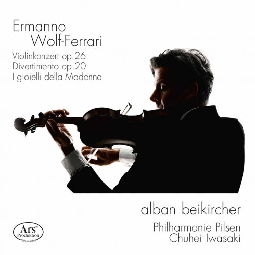 Alban Beikircher, Philharmonie Pilsen & Chuhei Iwasaki – Wolf-Ferrari: Orchestral Works (2021) [24bit 48khz FLAC]